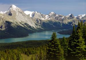 Maligne Lake, Jasper. Alberta