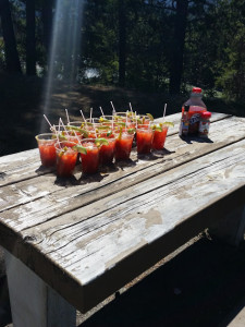 Handmade Caesars- made by us
