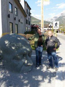 Canmore sculpture